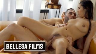 Bellesa - Shy Latina Gianna Dior rides cock for first time