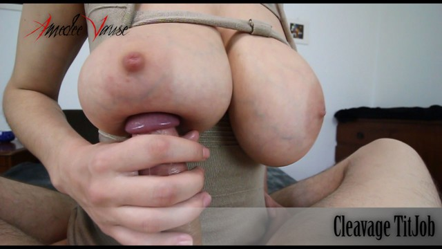 Free titjob cumshot video compilations Cleavage titjob titjob and titty creampie - preview - by amedee vause