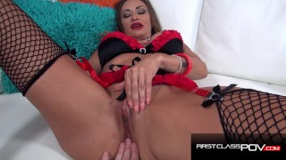 Hot MILF Claudia Valentine takes a 9 inches cock in her Asshole