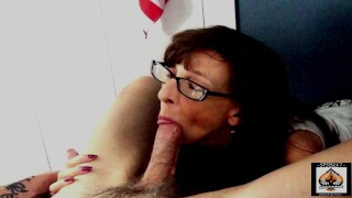 Sexy Granny Insane Suck Skills Big Cumload Swallowed