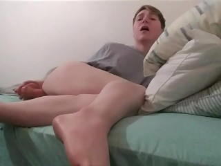 Femboy Moans and Squirms From Dick