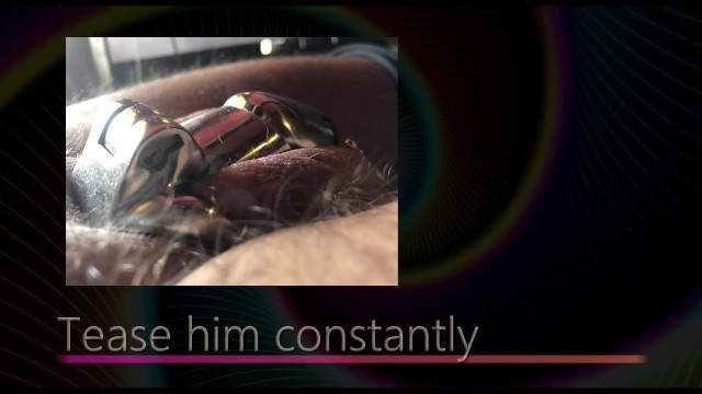 Femdom handjobs wrestling tease denial - Guide to chastitiy for keyholders 01 tease and denial - male chastity