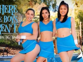 VIVID Abella, Milana & Kendra Squirting Lesbian Threesome main image