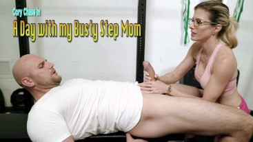 Gym Massage and Blowjob from My Step Mom - Cory Chase