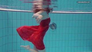 Libuse underwater slut naked body