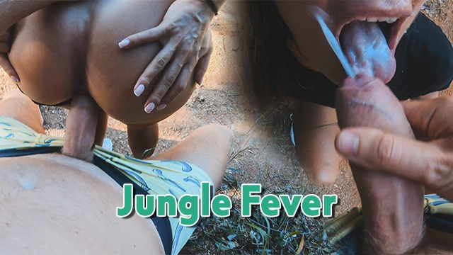 Bar gym jungle monkey vintage Public quick fuck in a secret jungle area with exotic amateur fitness girl