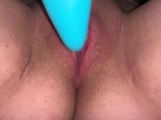 Boy Tranny Cums on Vibrator