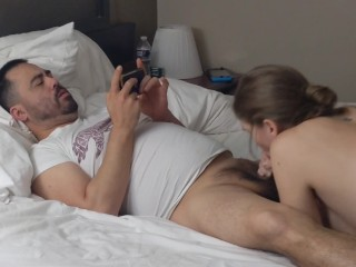 Servicing Each Other While Watching Porn Cum Swap at