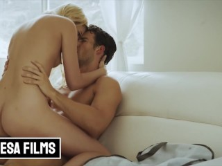 Bellesa Cute blonde Kenna James fucked out of friendzone Jay Smooth, Kenna James
