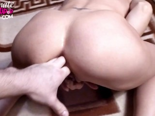 Sexy Milf Masturbate Pussy and Play Ass Hole – Female Orgasm