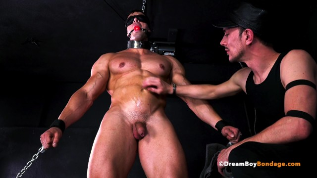 Gay bondage dungoens Hot straight muscle stud dominated by another guy