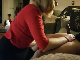 Sissy CD Christy swallows load, keeps going