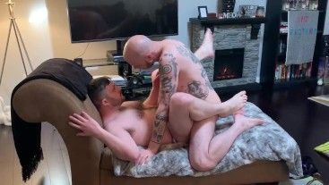 Jockstrap Cub Pounded From Behind By Tattooed Otter