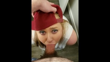 Slutty Step sister blows me while parents are away