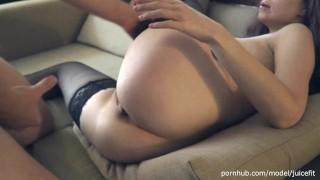 Free Video Sex - JuiceFit Надела Чулки И Он Меня Сразу Выебал