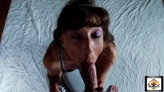 Sexy Granny Show Cum Mouth Swallow Compilation