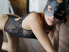 SUBMISSIVE cute kitten knows how to use USE HER TONGUE. ASS LICKING. CIM.
