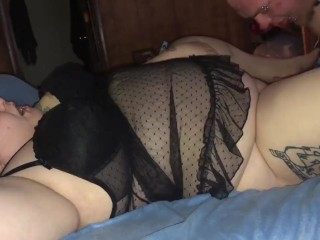 Quick squirting anniversary sex in the am to het the day started