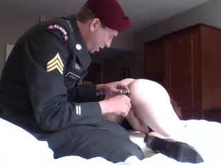 Ranger fucks Commanding Officer