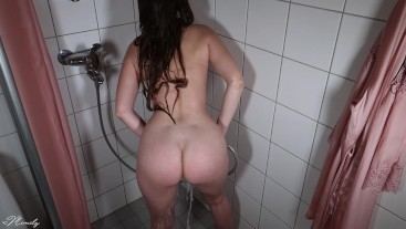 (#4) My First Video Of Me Fingering Myself In The Shower