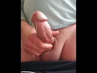 FPOV Edging With Amazing Precum And Massive Hot Load