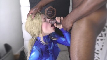 Deep Stroking a Blonde Until Huge Load Coats Her Pretty Face