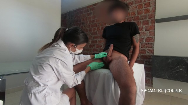Nurse gives rectal exam porn Female doctor give prostate exam massage - femdom - swamateurcouple