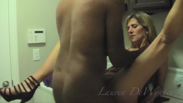 Dirty dishwater blonde milf Dirty laundry