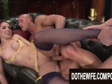 Do The Wife - Pounding Brunette Wives While Their Cucks Watch Compilation 2