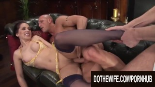 Do The Wife – Pounding Brunette Wives While Their Cucks Watch Compilation 2