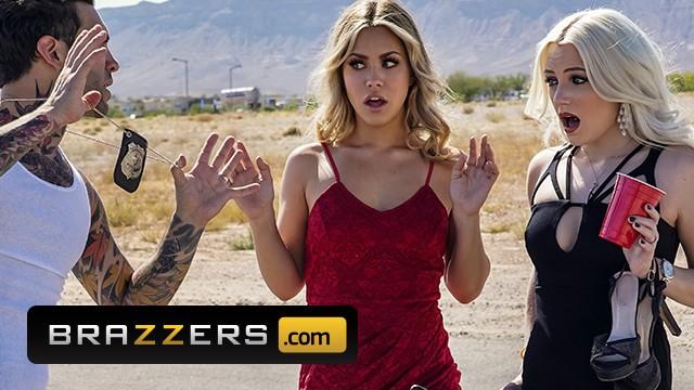 Cop milf video Brazzers - blonde slut alina lopez fucks inked cop to get off