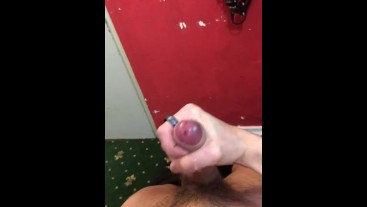 Twink Boy jerking off and cums like a fountain