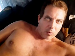 Southern Daddy Jerking Off on STEPSON PHONE ! Southern Curious Dad Son Leak