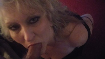 BEAUTIFUL STEPMOM LOVES TAKING NEW STEPSONS COCK IN HER MOUTH