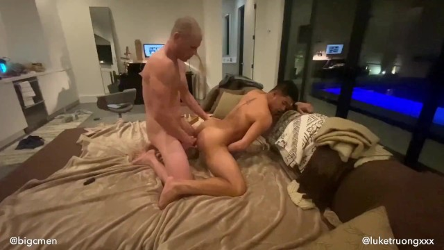 Is luke jensen gay New asian superstar luke truong cums by for a fuck session with big c
