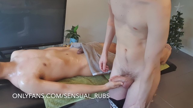 Aian twinks Asian guy cums inside me after erotic massage and fingers me