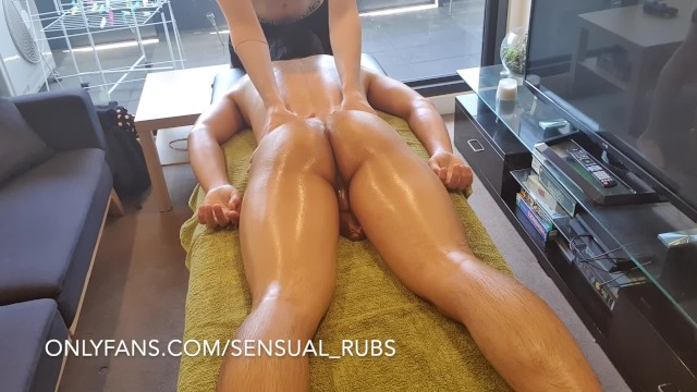 Fun gay men nude sex cum - Asian guy cums inside me after erotic massage and fingers me