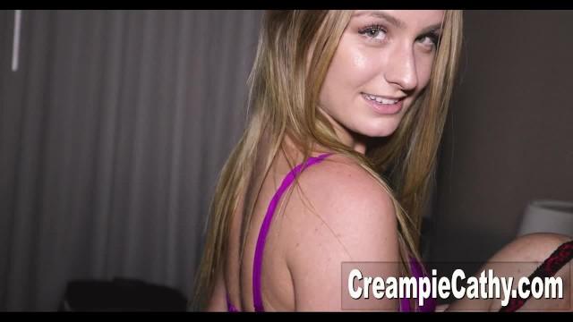 Cathys orgy Her 1st creampie gangbang - daisy