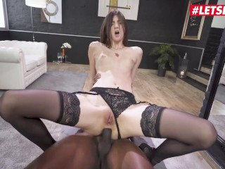 Her Limit – Hot Teen Lina Luxa Gets Her Butt Stretched By BBC – LETSDOEIT