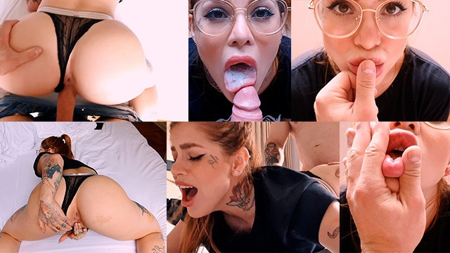 Fuck hot model - Fucking her pussy before we leave the hotel damn she is so hot