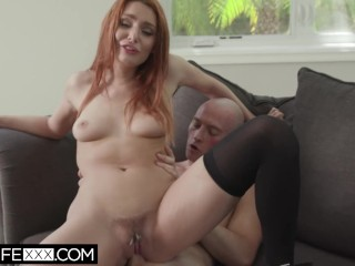 HotwifeXXX – Husband Watches Redhead Shared Wife Lacy Deepthroat