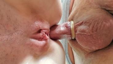 Tiny Milf Has A Deep Anal Orgasm