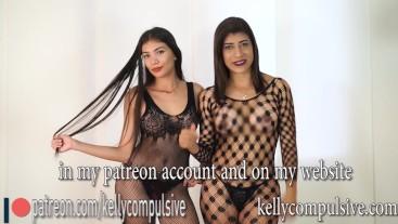 Sexy video de mallas transparentes con Jennifer | kelly compulsive