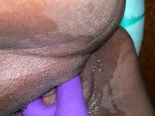 Wet Mexican pussy