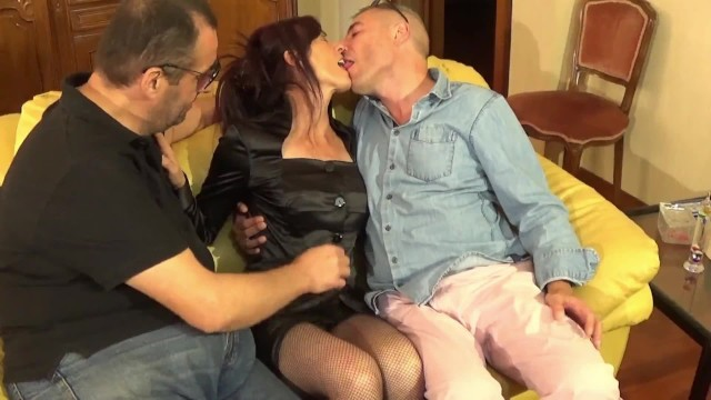 The maid is fucked by her bosses