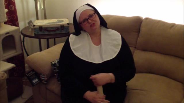 Adult bbw costumes Naughty nun joi