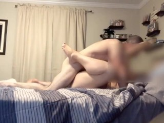 Amateur couple have a good time