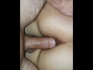 1ST TIME ANAL (anal creampie)