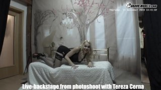 Bravo Models Media – Prague – Backstages from photoshoots – Rebeka Black