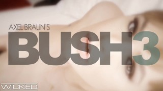 Wicked - Gina Valentina Takes Cumshot On Her Natural Bush